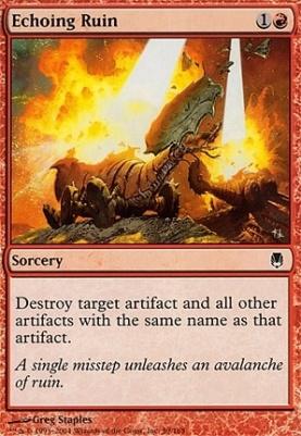 Darksteel Foil: Echoing Ruin