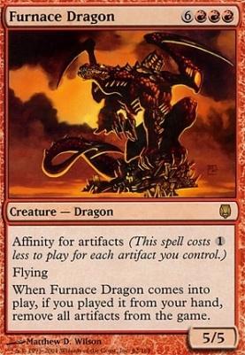 Darksteel: Furnace Dragon