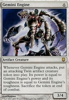 Darksteel Foil: Gemini Engine