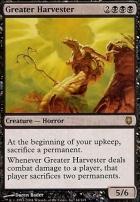 Darksteel Foil: Greater Harvester