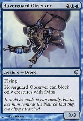 Darksteel: Hoverguard Observer
