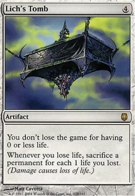 Darksteel Foil: Lich's Tomb