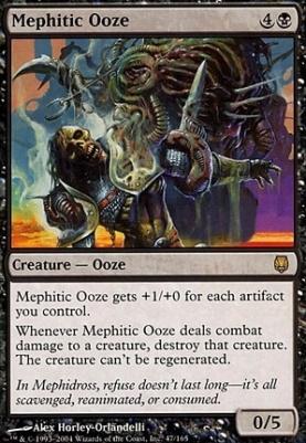 Darksteel Foil: Mephitic Ooze