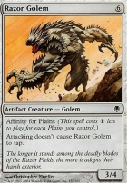 Darksteel Foil: Razor Golem