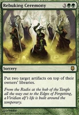Darksteel: Rebuking Ceremony