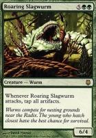 Darksteel Foil: Roaring Slagwurm