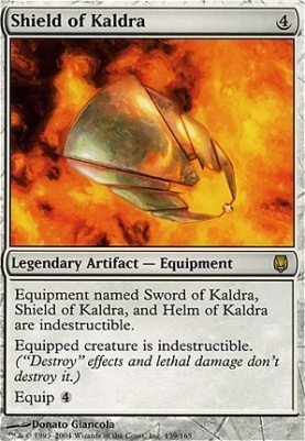 Darksteel Foil: Shield of Kaldra