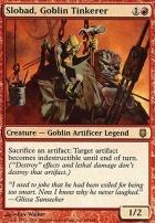 Darksteel: Slobad, Goblin Tinkerer