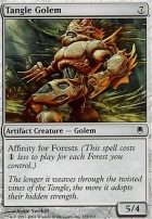Darksteel Foil: Tangle Golem