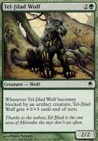 Darksteel Foil: Tel-Jilad Wolf