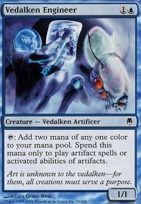 Darksteel Foil: Vedalken Engineer