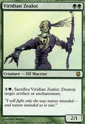 Darksteel: Viridian Zealot