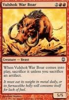 Darksteel Foil: Vulshok War Boar