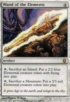 Darksteel Foil: Wand of the Elements