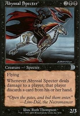 Deckmaster: Abyssal Specter