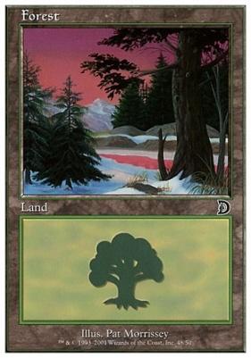 Deckmaster: Forest (48 A)