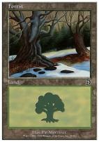 Deckmaster: Forest (49 B)