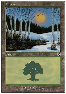 Deckmaster: Forest (50 C)