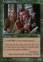 Deckmaster: Fyndhorn Elves