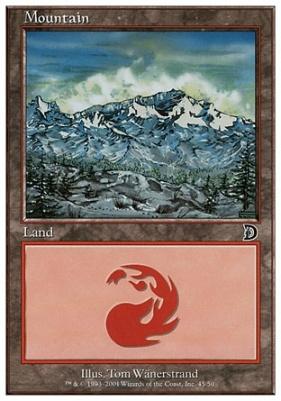 Deckmaster: Mountain (45 A)