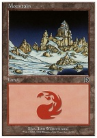 Deckmaster: Mountain (46 B)