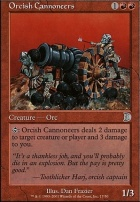 Deckmaster: Orcish Cannoneers