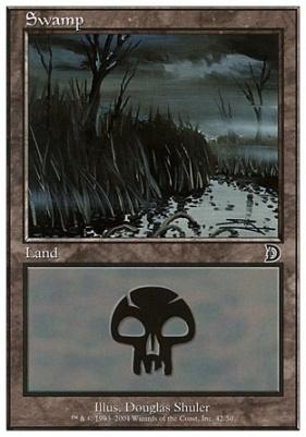 Deckmaster: Swamp (42 A)