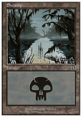 Deckmaster: Swamp (43 B)