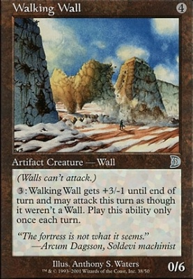 Deckmaster: Walking Wall