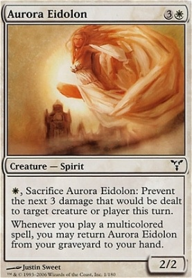 Dissension Foil: Aurora Eidolon