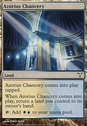 Dissension: Azorius Chancery