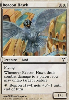 Dissension Foil: Beacon Hawk