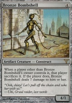 Dissension Foil: Bronze Bombshell