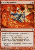 Dissension Foil: Cackling Flames