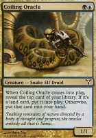 Dissension Foil: Coiling Oracle