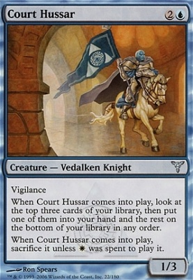 Dissension: Court Hussar