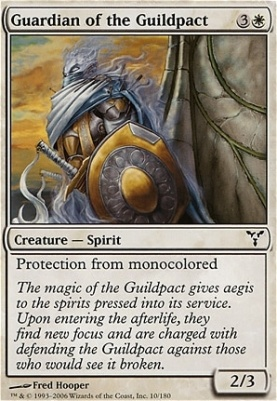 Dissension Foil: Guardian of the Guildpact