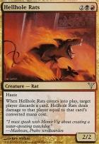 Dissension Foil: Hellhole Rats