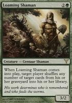Dissension Foil: Loaming Shaman