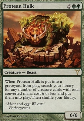 Dissension: Protean Hulk