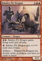 Dissension Foil: Rakdos Pit Dragon