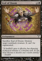 Dissension Foil: Seal of Doom