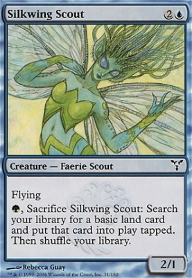 Dissension Foil: Silkwing Scout
