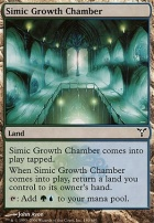 Dissension Foil: Simic Growth Chamber