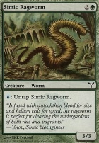 Dissension Foil: Simic Ragworm