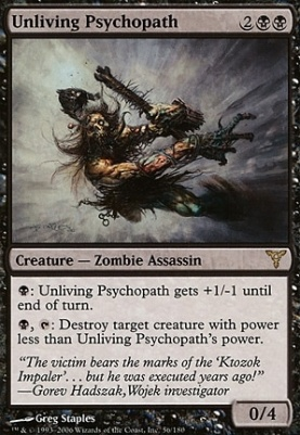 Dissension Foil: Unliving Psychopath