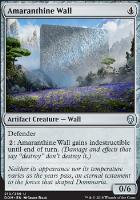 Dominaria Foil: Amaranthine Wall