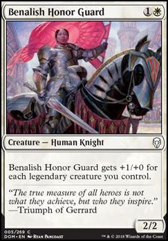 Dominaria: Benalish Honor Guard