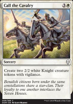 Dominaria: Call the Cavalry