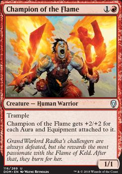 Dominaria: Champion of the Flame